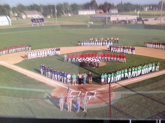 American Legion State Baseball Tournament at Townsend Field